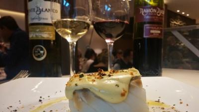 Bacalao con vinos Ramón Bilbao