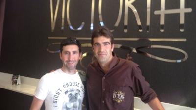 Joseba Beloki e Iván Fernández