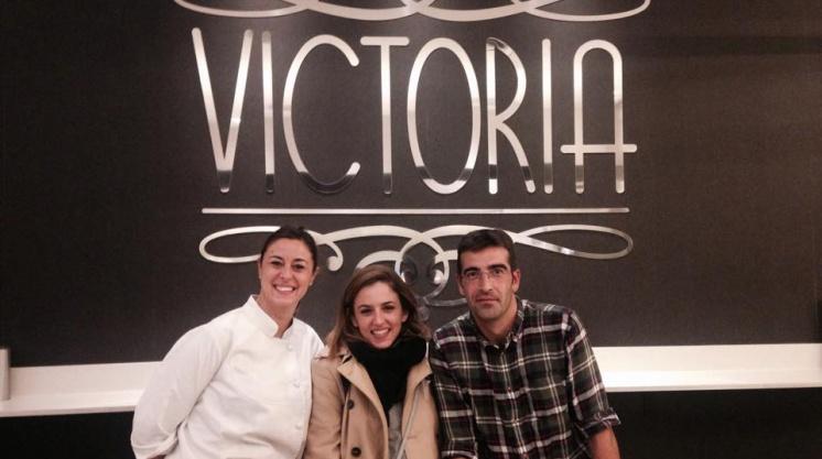 Marina Salas en tapas y pinchos Victoria