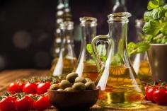 Cata de aceites y Vino Caecus de Pago de Larrea