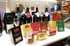 champagne gosset y productos de pato Dipesa