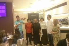 equipo Cata Cafetería Victoria Obrador Grate y Bodega Campo viejo