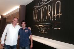 DUSKO IVANOVIC EN CAFETERÍA VICTORIA