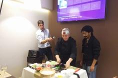 Show cooking uramaki en Tapas y pinchos Victoria