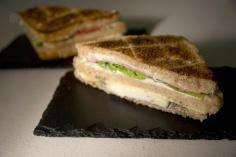 Sandwich vegetal  a la plancha