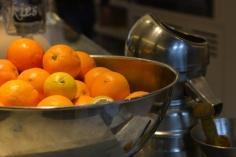 Nuestras naranjas para preparar el zumo natural